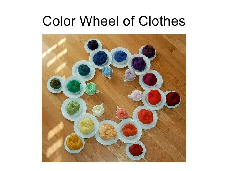 Color Wheel of Clothes
