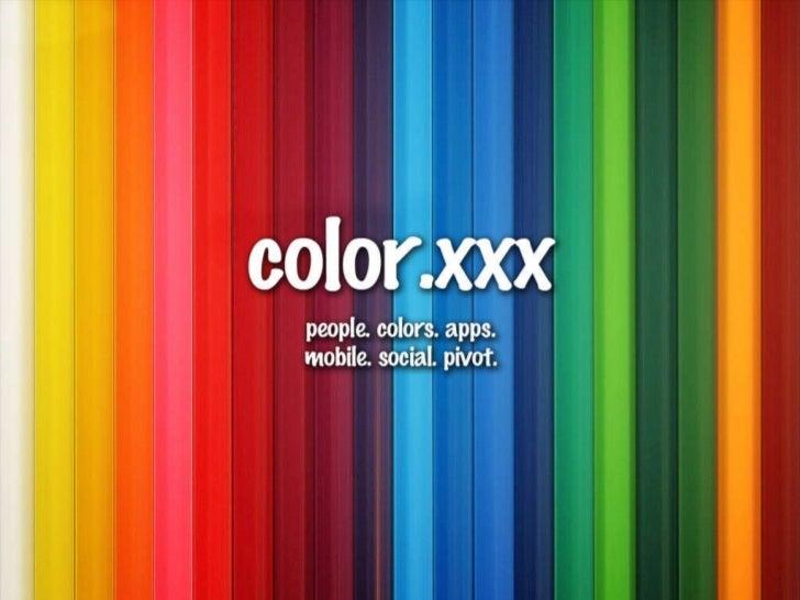color faux pitch deck
