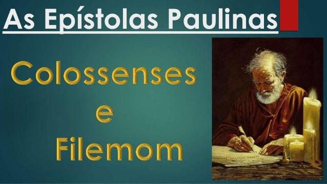 As Epístolas Paulinas