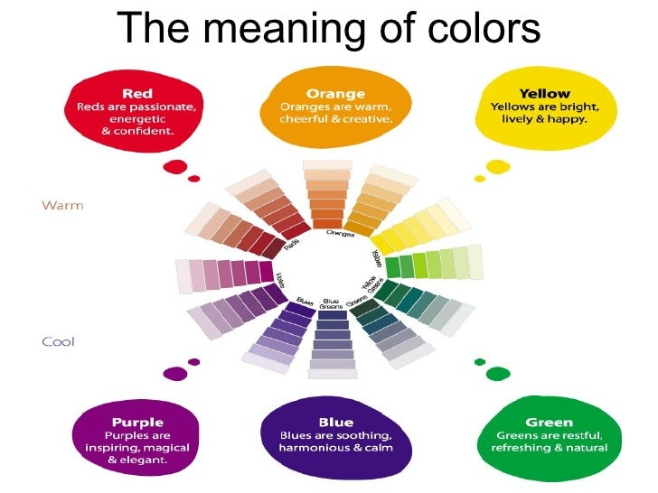 Energetic Colors colour