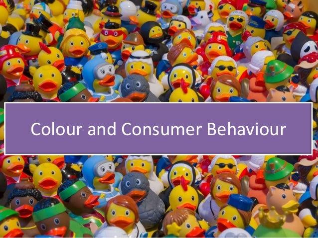 Colour and Consumer Behaviour