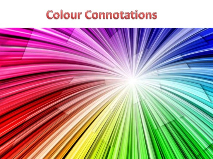 Colour connotations