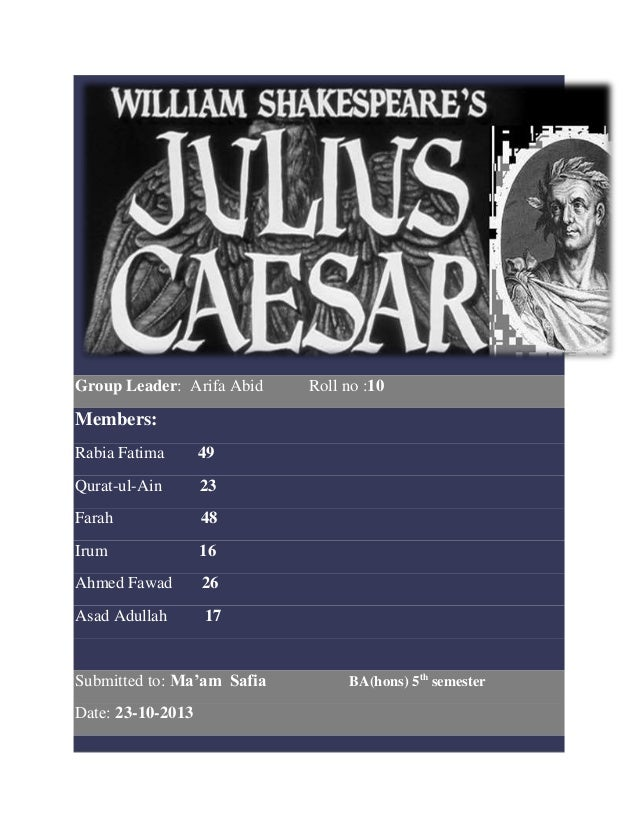 julius caesar leadership traits Julius Caesar Characteristics