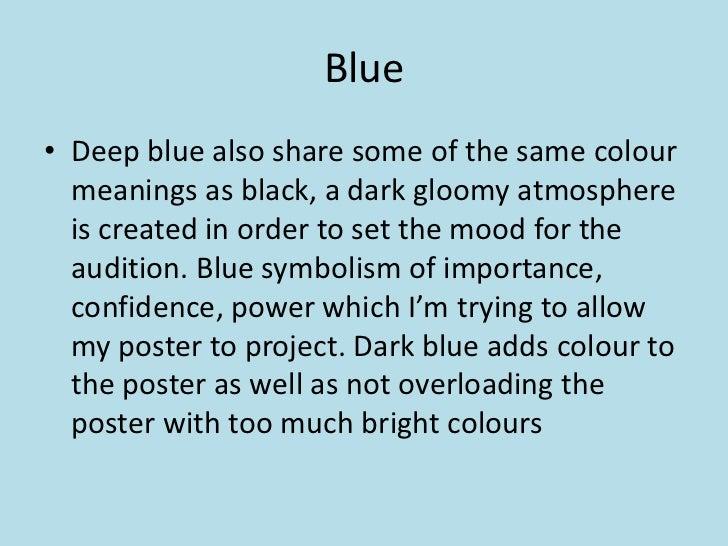 Colour for poster blue publicscrutiny Choice Image