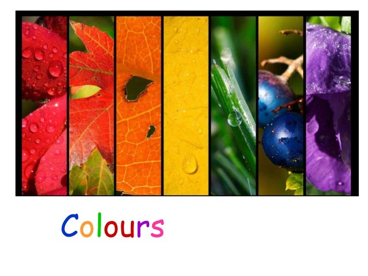 Colours of Nature    PowerPoint by Karen Cox