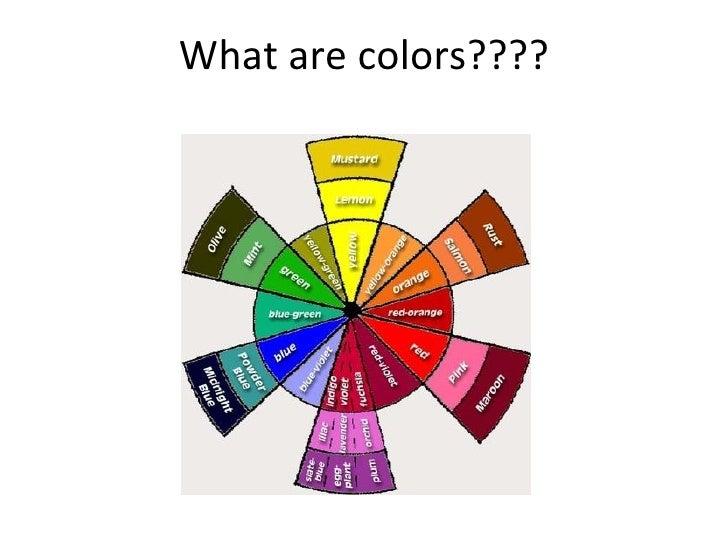 psychology of colours by Ayesha Aftab Slide 3