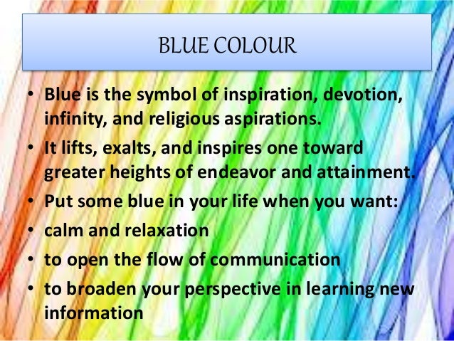 Colours And Gemstone Presentation