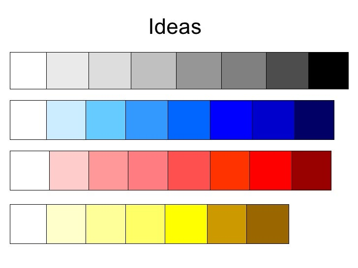 Colour Scheme Ideas By Emily Shufflebottom 2
