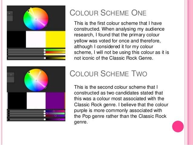 Colour Scheme Ideas 3 Colour