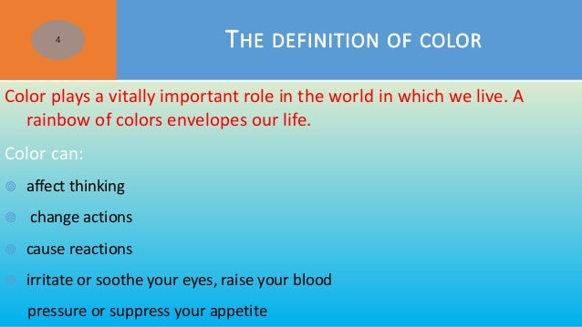 Colors In Our Life