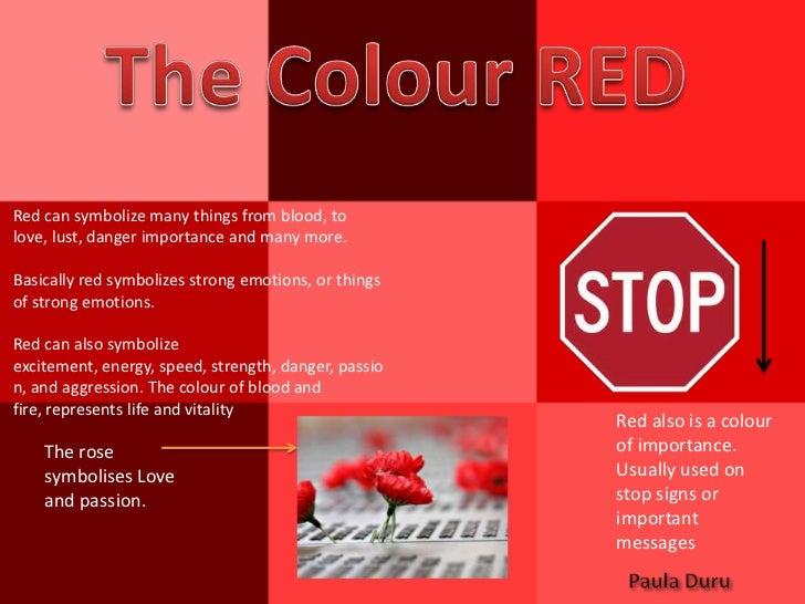 Colour Symbolism Task