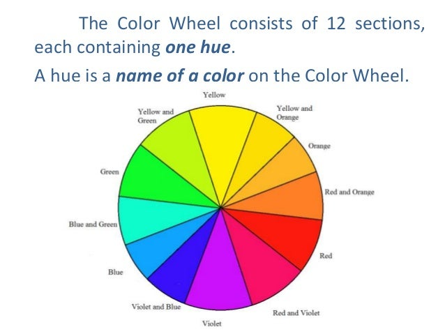 4 The Color Wheel Consists Of 12