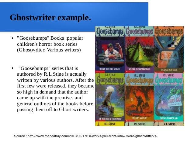 Ghost writer examples was ist eine sojasauce