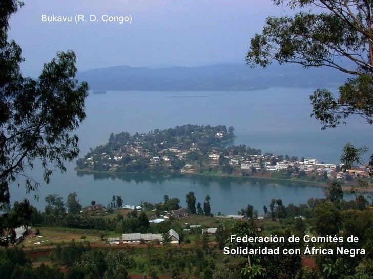 Bukavu (R. D. Congo)                        Federación de Comités de                       Solidaridad con África Negra