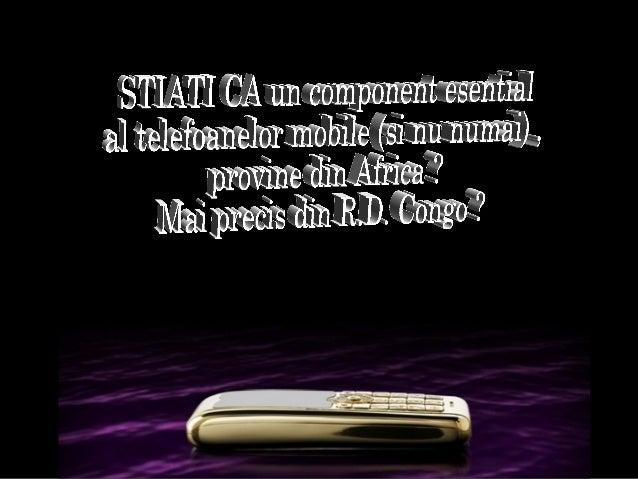 Coltanul - Congo (Zair)