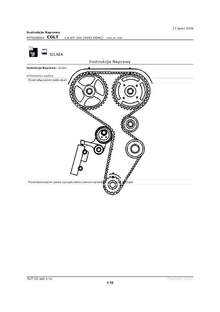 Colt Ca 18 Rozrzad