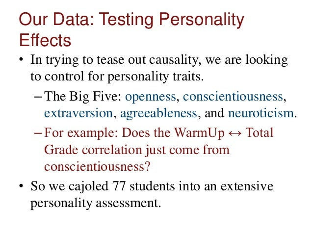 a summary of a psychological test on extroversion agreeableness and emotionalism This personality trait predicts your tendency to lie and cheat  openness,  conscientiousness, extroversion, agreeableness, and neuroticism.