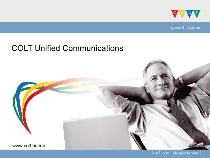 COLT Unified Communications