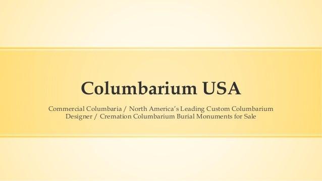 Columbarium USA Commercial Columbaria / North America's Leading Custom Columbarium Designer / Cremation Columbarium Burial...
