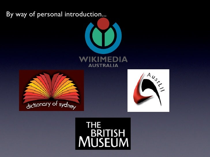 Wikipedia, Museum and access to Art Slide 2