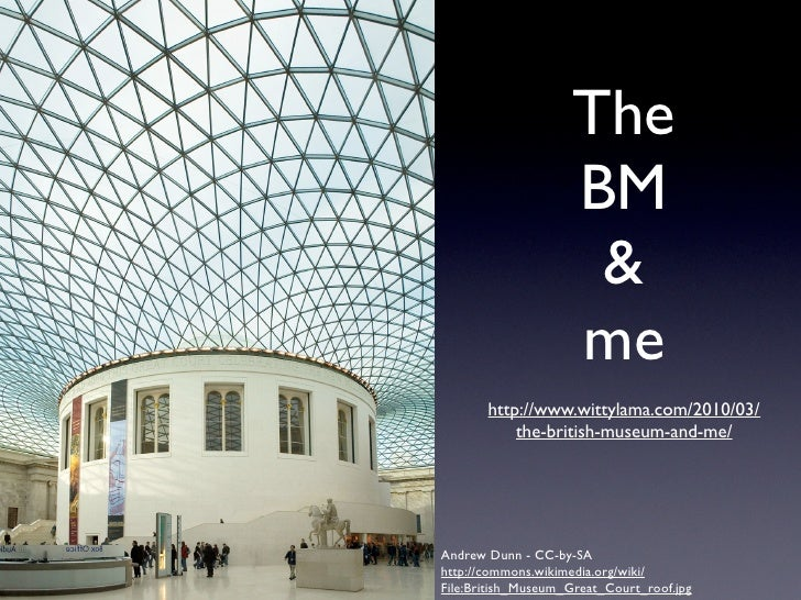 Wikipedia, Museum and access to Art Slide 3