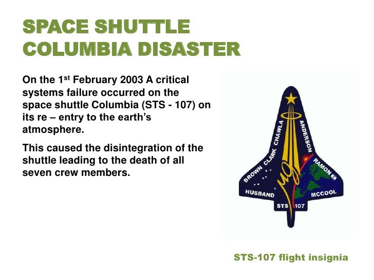 space shuttle columbia disaster engineering failure - photo #34