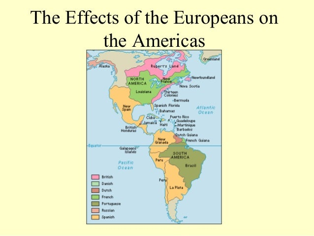 the effect of columbian exchange on The columbian exchange was both biological and cultural this exchange and  its effects on the world became the focus of the quincentennial subsequently.