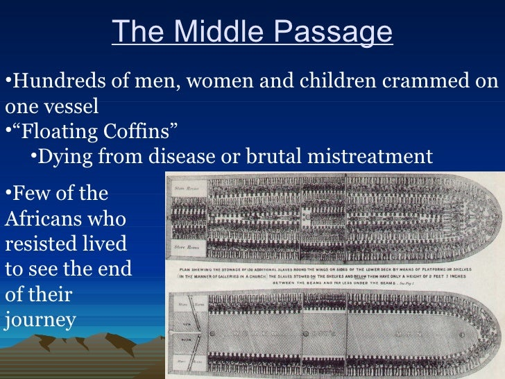 the middle passage essay Middle passage—the voyage of enslaved people across the atlantic from africa to the americas the middle leg of a three-part trade in slaves and goods.