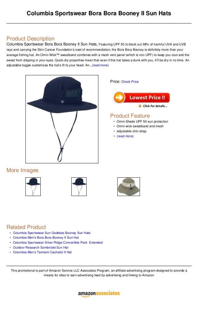 •••••Columbia Sportswear Bora Bora Booney II Sun HatsProduct  DescriptionColumbia Sportswear Bora a8e965e5ff5