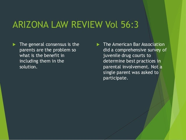 Ethical issues in juvenile drug courts