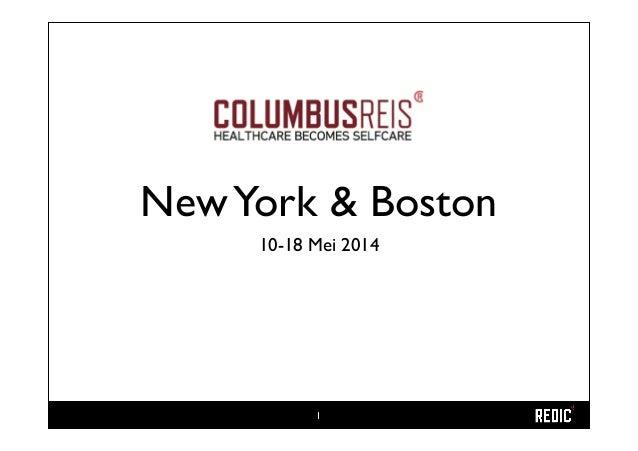 NewYork & Boston 10-18 Mei 2014 1