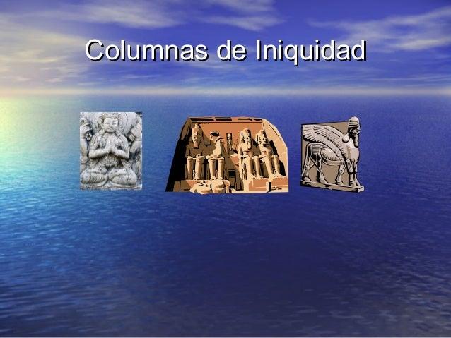 Columnas de Iniquidad