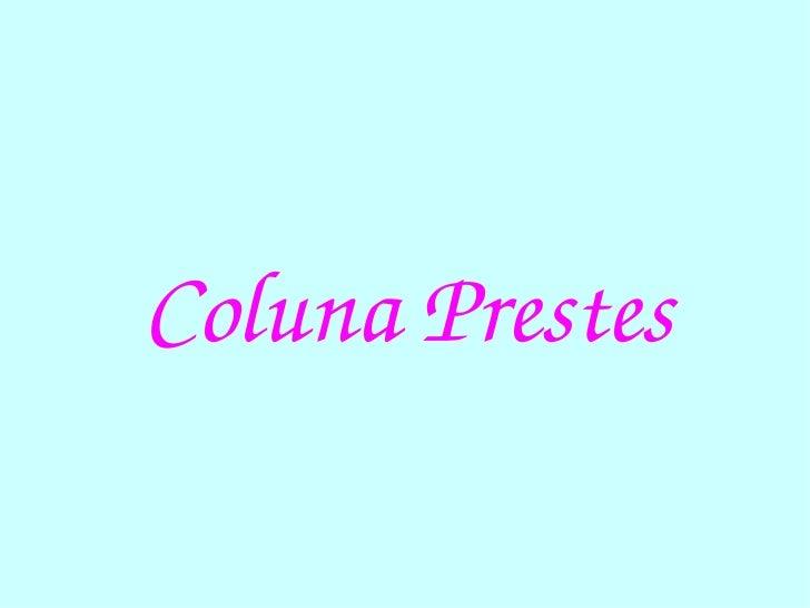 Coluna Prestes