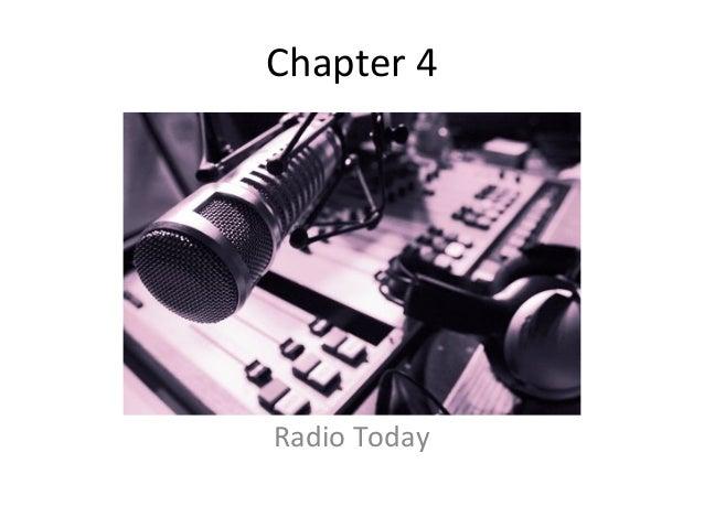 Chapter 4Radio Today
