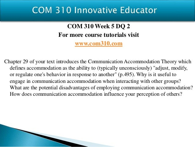 com310 news program analysis View homework help - com 310-back-bay-battery-analysis from com/rtf  310 at university of texas at dallas, richardson technology & innovation team .