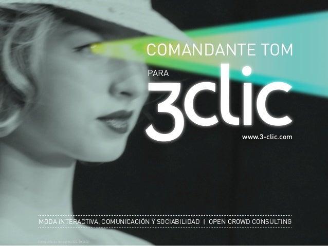 COMANDANTE TOM                                     PARA                                                       www.3-clic.c...