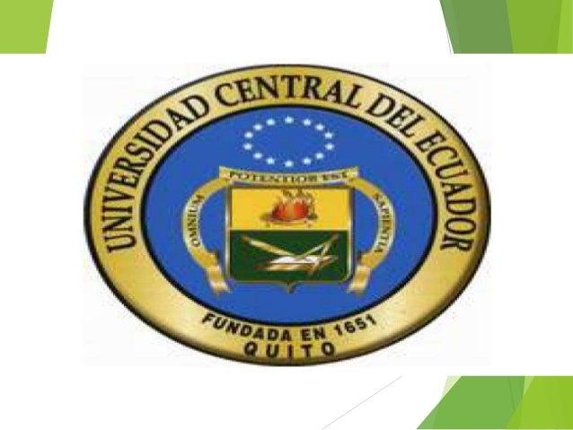 UNIVERSIDAD CENTRAL DEL ECUADOR FACULTAD DE FILOSOFÍA, LETRAS Y CIENCIAS DE LA EDUCACIÓN CARRERA DE INFORMÁTICA TERCER SEM...