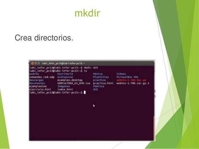 mv Mueve archivos y directorios