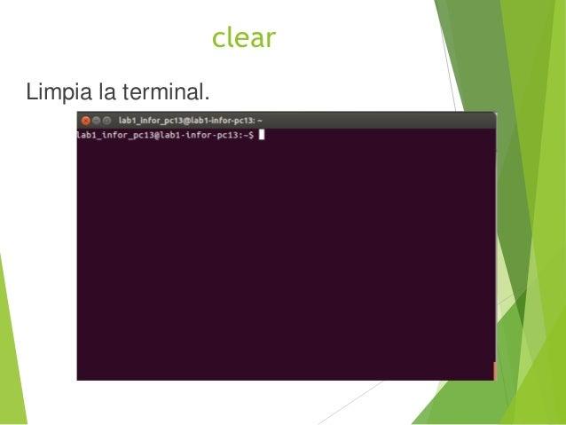 exit Sale del shell o terminal actual.