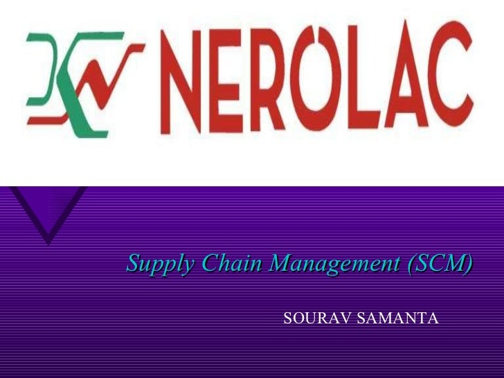 Supply Chain Management (SCM) SOURAV SAMANTA