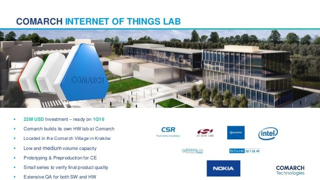 Comarch BLE & LoRa devices