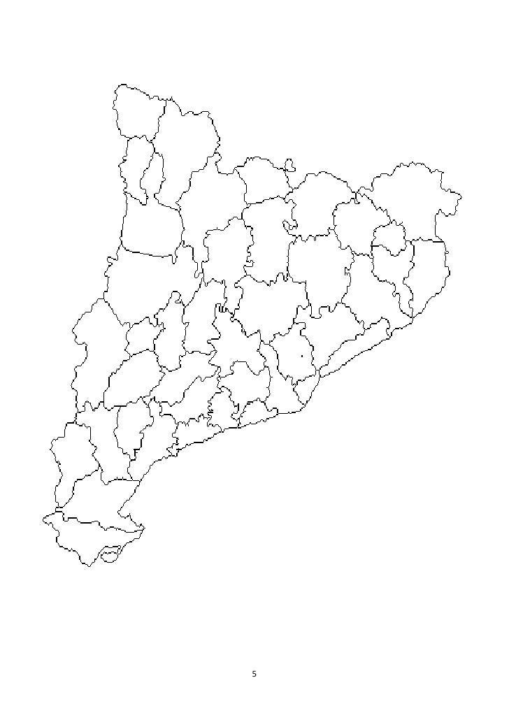 Comarques Catalunya