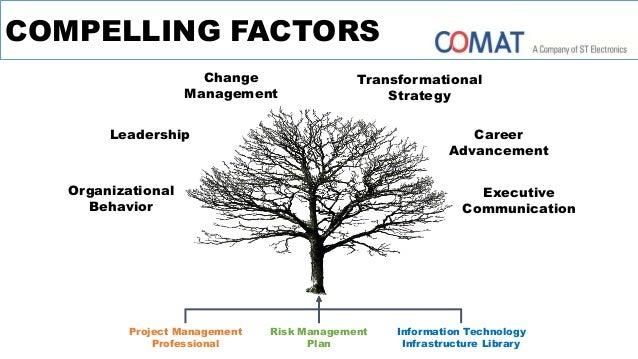 COMPELLING FACTORS Organizational Behavior Leadership Career Advancement Transformational Strategy Change Management Execu...