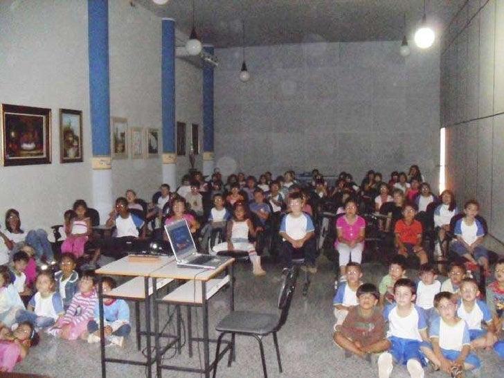 Com aulas de informática e filmes cvt foi o maior agito na semana da crianca