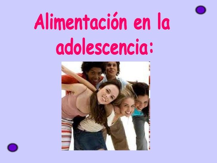 La adolescencia es una etapa de la vida   marcada por importantes cambios  emocionales, sociales y fisiológicos.  Sobre es...