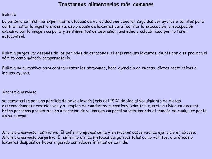 Factores que causan trastornos alimentarios•Factores biológicos: ansiedad, perfeccionismo, comportamientos ypensamientos c...