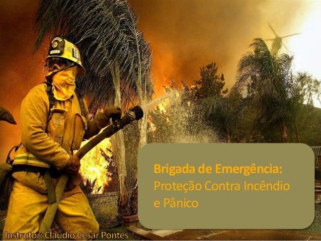 Brigada de Emergência: ProteçãoContra Incêndio e Pânico
