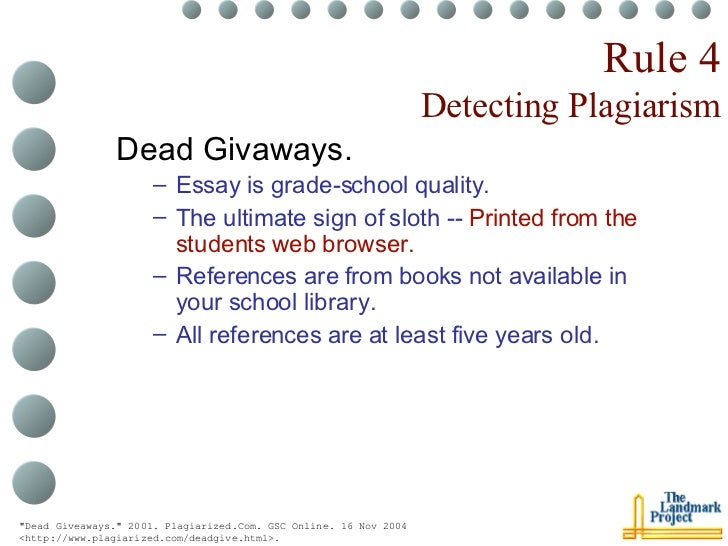 anti-plagiarism strategies for research papers robert harris Tech tips for educators newsletter about plagiarism-proofing assignments and  assessments  anti-plagiarism strategies for research papers robert harris  offers eight strategies for reducing plagiarism in research papers, including clear .