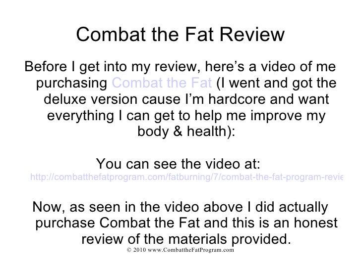 Combat The Fat Reviews 58