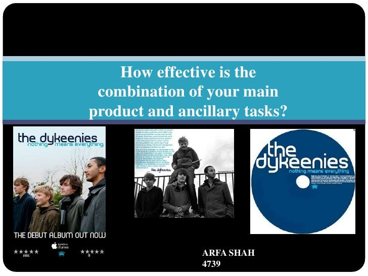 How effective is the combination of your main product and ancillary tasks?<br />ARFA SHAH                                 ...